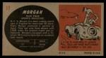 1961 Topps Sports Cars #17   Morgan Plus Four Back Thumbnail