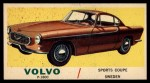 1961 Topps Sports Cars #45   Volvo P-1800 Front Thumbnail