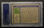 1972 Topps #336  Jim Marshall  Back Thumbnail