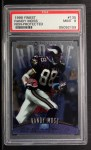1998 Topps Finest Non-protected Refractor #135  Randy Moss  Front Thumbnail