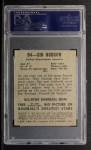 1949 Leaf #84  Sid Hudson  Back Thumbnail