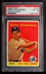 1958 Topps #101 YN Bobby Richardson  Front Thumbnail