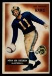 1955 Bowman #32  Norm Van Brocklin  Front Thumbnail