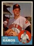 1963 Topps #14  Pedro Ramos  Front Thumbnail