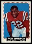 1964 Topps #4  Ron Burton  Front Thumbnail