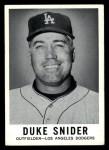 1960 Leaf #37  Duke Snider  Front Thumbnail