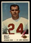 1961 Fleer #27  Bill Stacy  Front Thumbnail