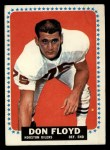 1964 Topps #73  Don Floyd  Front Thumbnail