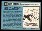1964 Topps #60  John Sklopan  Back Thumbnail