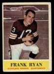 1964 Philadelphia #38  Frank Ryan     Front Thumbnail