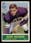 1964 Philadelphia #107  Jerry Reichow     Front Thumbnail