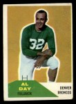1960 Fleer #106  Al Day  Front Thumbnail