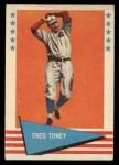 1961 Fleer #80  Fred Toney  Front Thumbnail