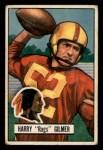 1951 Bowman #72  Harry Gilmer  Front Thumbnail