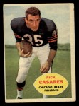 1960 Topps #13  Rick Casares  Front Thumbnail