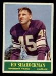 1964 Philadelphia #108  Ed Sharockman   Front Thumbnail