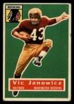 1956 Topps #13  Vic Janowicz  Front Thumbnail