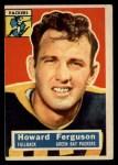 1956 Topps #31  Howard Ferguson  Front Thumbnail