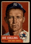 1953 Topps #9  Joe Collins  Front Thumbnail