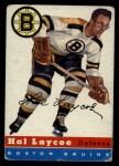 1954 Topps #38  Hal Laycoe  Front Thumbnail