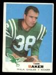 1969 Topps #154  Sam Baker  Front Thumbnail