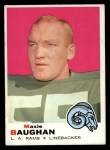 1969 Topps #169  Maxie Baughan  Front Thumbnail