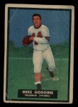 1951 Topps #32  Mike Goggins  Front Thumbnail