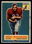 1956 Topps #106  John Olszewski  Front Thumbnail