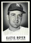1960 Leaf #46  Clete Boyer  Front Thumbnail