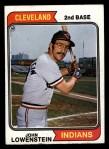 1974 Topps #176  John Lowenstein  Front Thumbnail