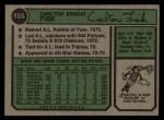 1974 Topps #105  Carlton Fisk  Back Thumbnail