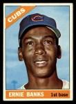 1966 Topps #110  Ernie Banks  Front Thumbnail