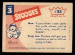 1959 Fleer Three Stooges #85   Give Me Hand Back Thumbnail