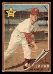 1962 Topps #181 A Paul Brown  Front Thumbnail