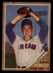 1962 Topps #89  Barney Schultz  Front Thumbnail