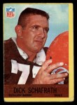 1967 Philadelphia #45  Dick Schafrath  Front Thumbnail
