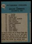 1964 Philadelphia #154   -  Buddy Parker    Pittsburgh Steelers Back Thumbnail