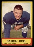 1963 Topps #54  Darrell Dess  Front Thumbnail