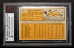 1963 Topps #345  Brooks Robinson  Back Thumbnail