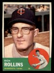 1963 Topps #110  Rich Rollins  Front Thumbnail