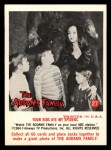 1964 Donruss Addams Family #27 CAN  Your kids ate my spiders  Front Thumbnail