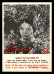 1964 Donruss Addams Family #35 CAN  I always play in poison ivy  Front Thumbnail