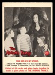 1964 Donruss Addams Family #27 AM  Your kids ate my spiders Front Thumbnail