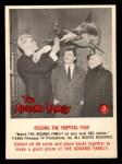 1964 Donruss Addams Family #3 AM  Feeding Tropical Fish Front Thumbnail