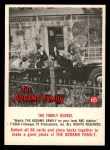 1964 Donruss Addams Family #65 AM  The family hearse Front Thumbnail