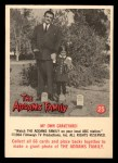 1964 Donruss Addams Family #25 AM  My own graveyard Front Thumbnail