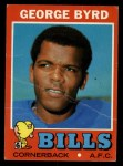 1971 Topps #58  George Byrd  Front Thumbnail