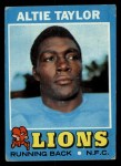 1971 Topps #62  Altie Taylor  Front Thumbnail