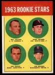 1963 Topps #522   -  Gary Peters / Jim Roland / Mel Nelson / Art Quirk Rookies   Front Thumbnail