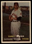 1957 Topps #40  Early Wynn  Front Thumbnail